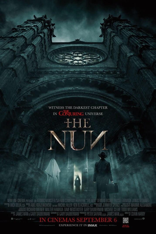 Plakat promujący film Zakonnica