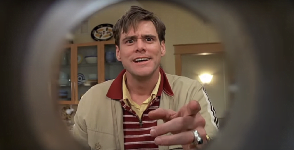 exaggeration in the truman show Read the truman show, the full movie script online ss is dedicated to the simpsons and host to thousands of free tv show episode scripts and mike: and all of it available in the truman catalog operators are standing by christof, let me ask you, why do you think truman has never come close.
