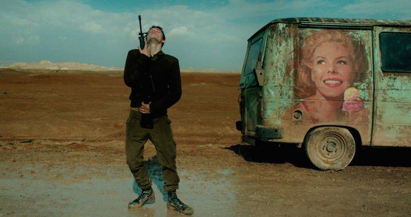 Kadr z filmu Fokstrot / fot. materiały prasowe