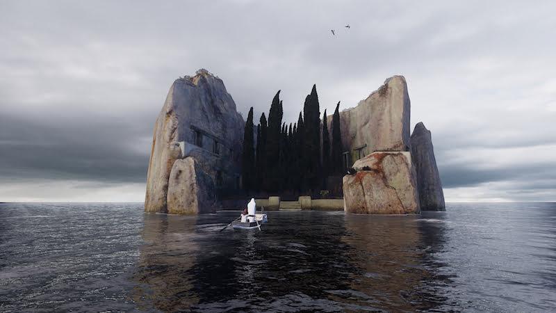 Kadr z instalacji VR Isle of the Dead / fot. materiały prasowe