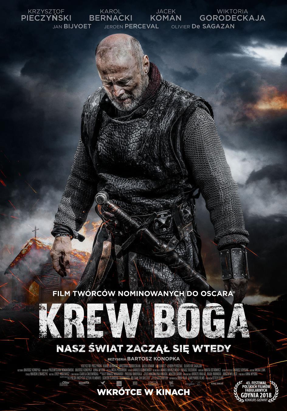 Krew Boga plakat filmu
