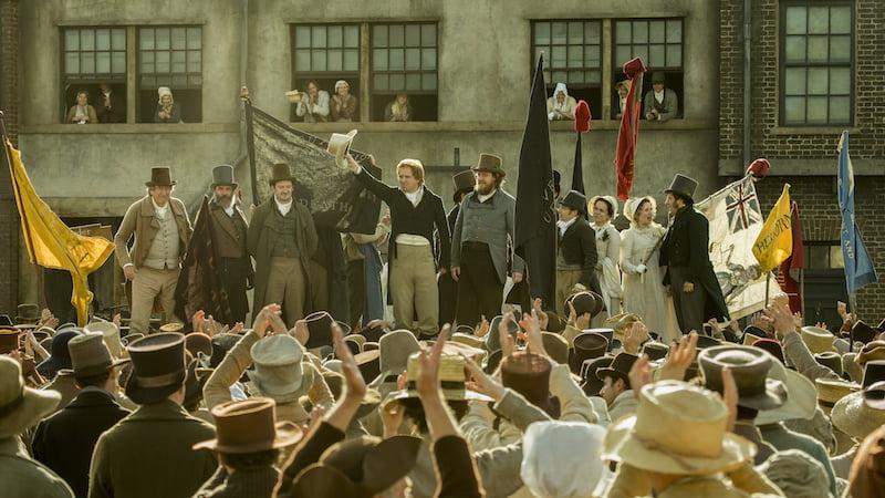 Kadr z filmu Peterloo / fot. materiały prasowe