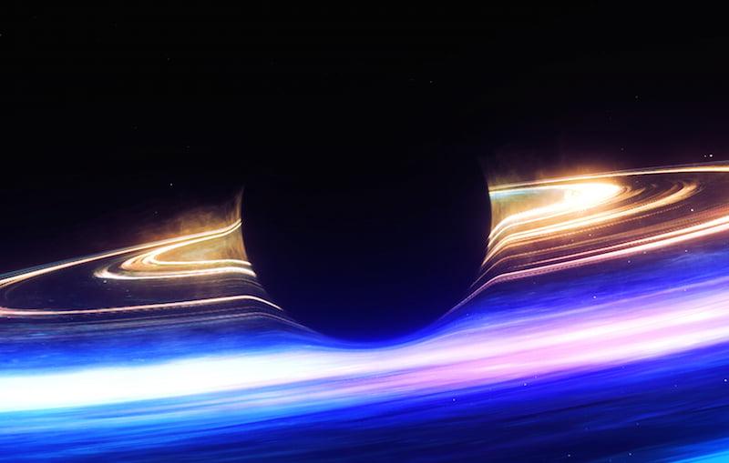 Kadr z instalacji VR Spheres / fot. materiały prasowe