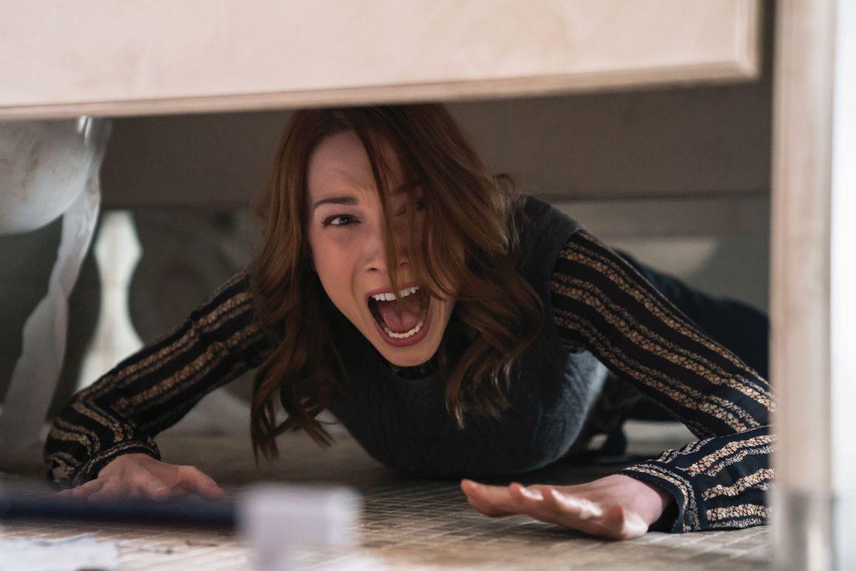 Kadr z filmu Halloween