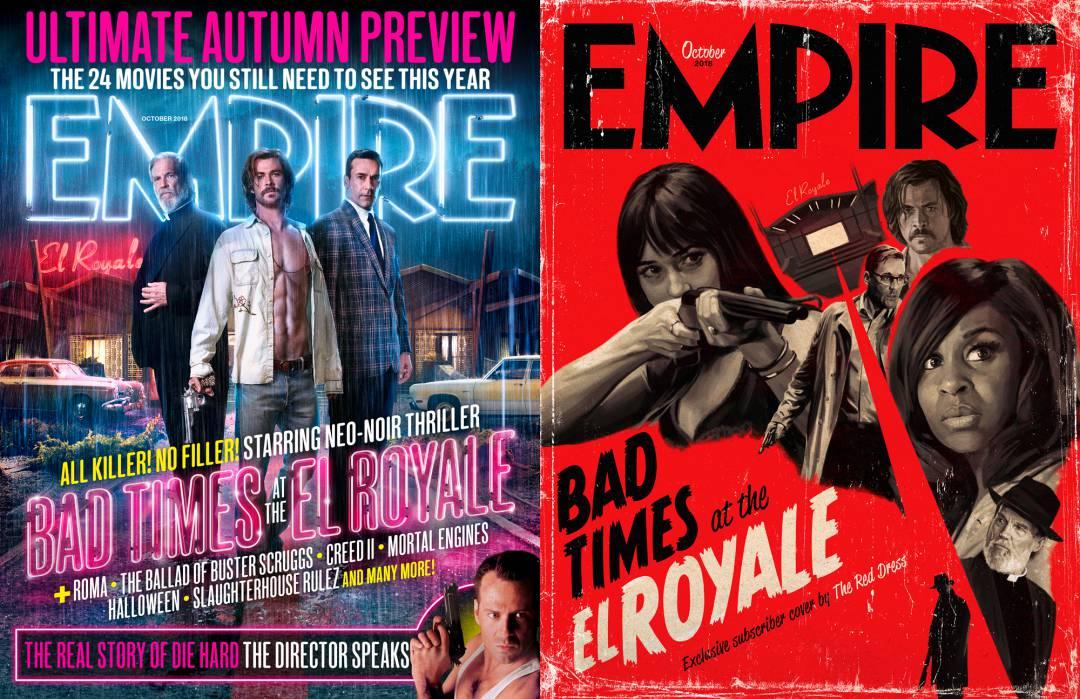 Okładki magazynu EMPIRE