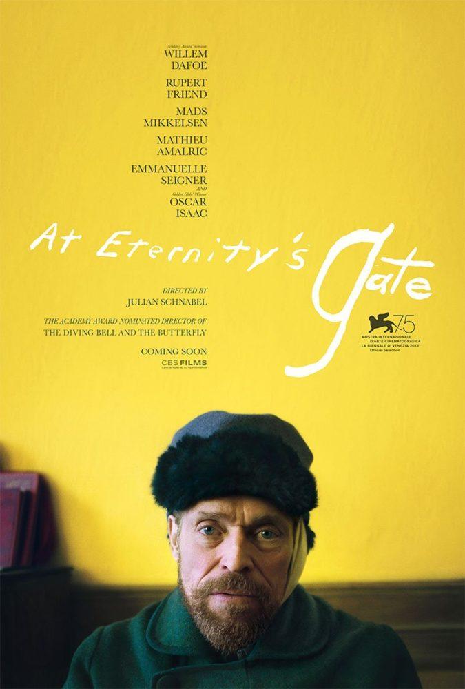 Willem Dafoe jako Van Gogh