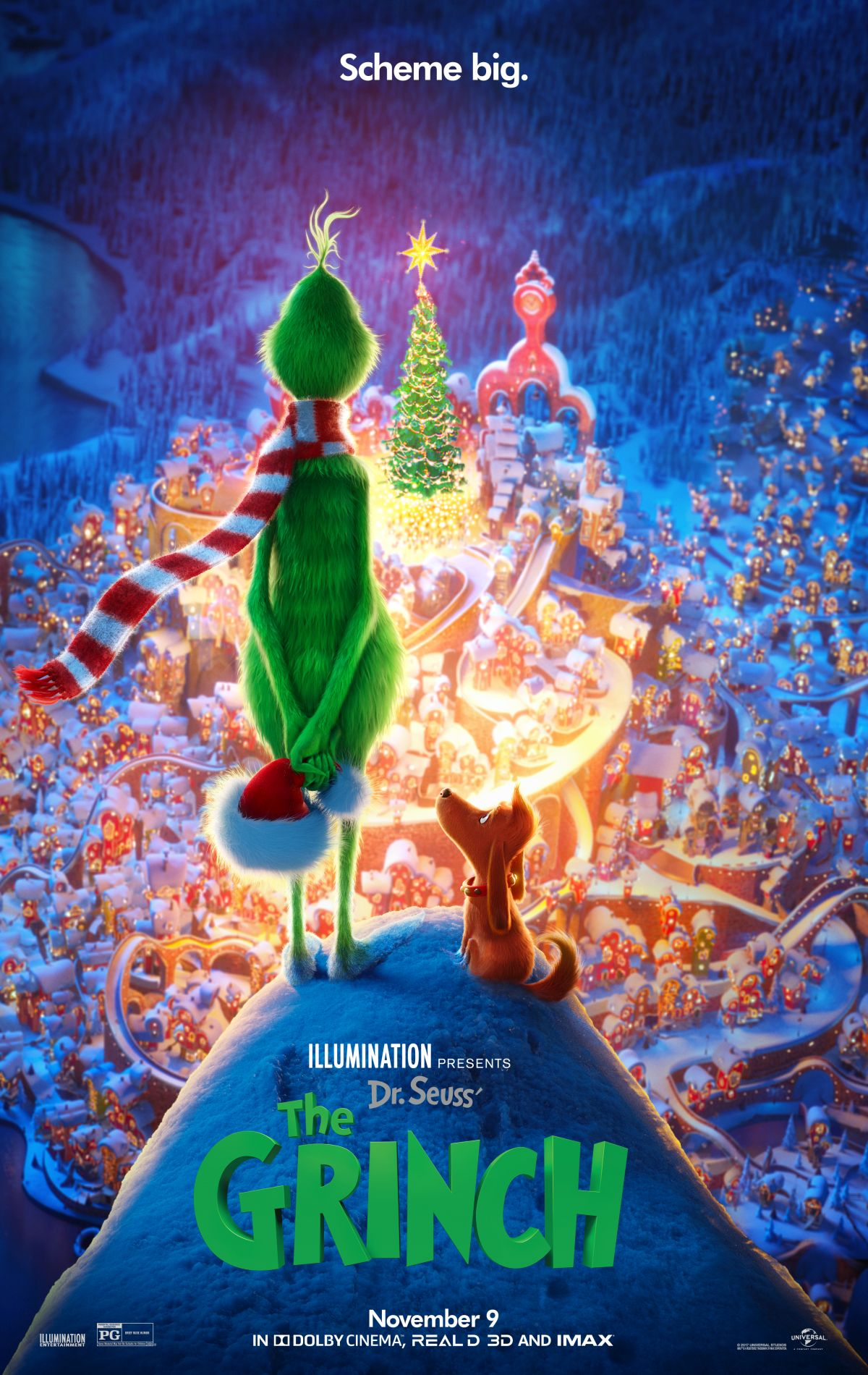 Plakat promujący film The Grinch