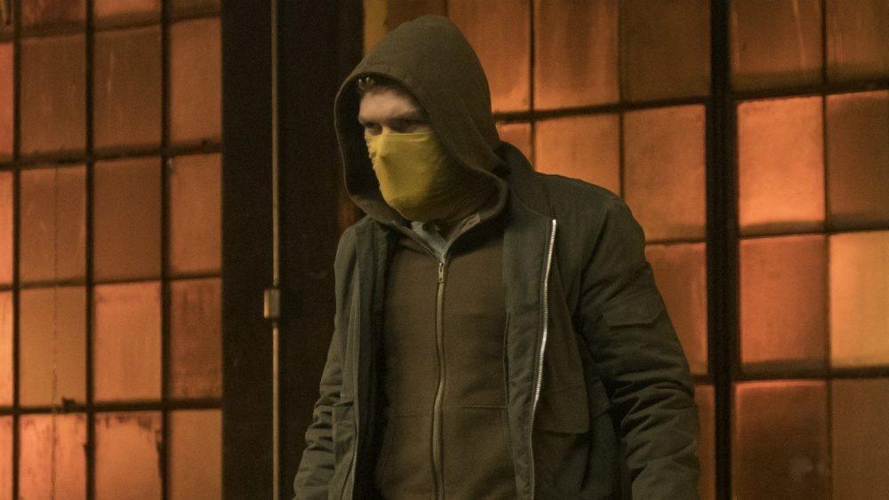 Kadr z serialu Iron Fist