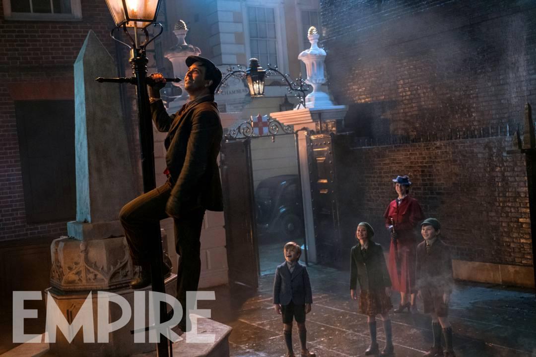 Zdjęcie promujące film Marry Poppins powraca