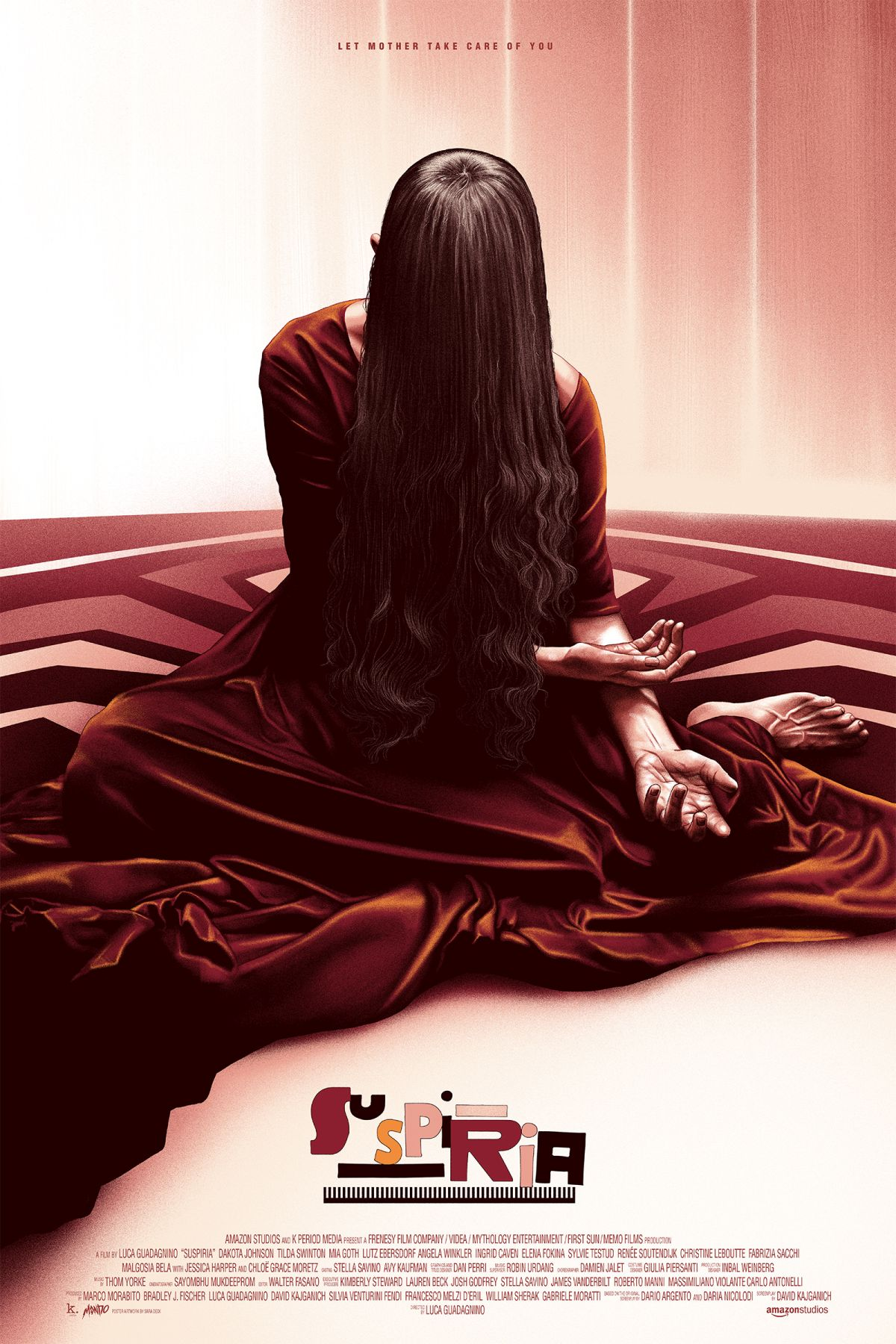 Plakat promujący film Suspiria