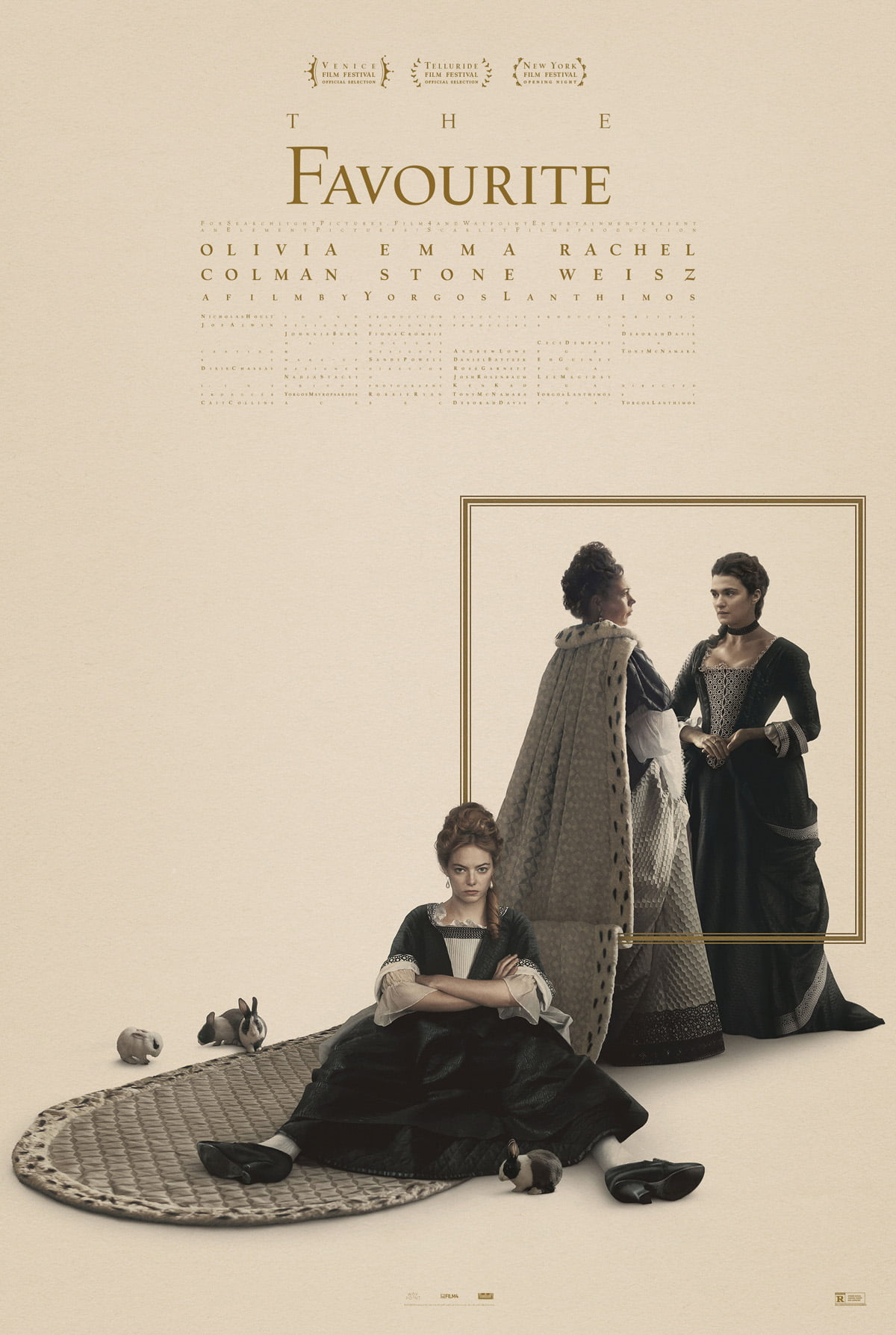 Plakat promujący film The Favourite