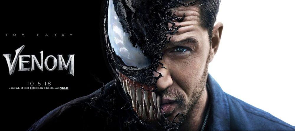 Tom Hardy jako Venom oficjalna grafika