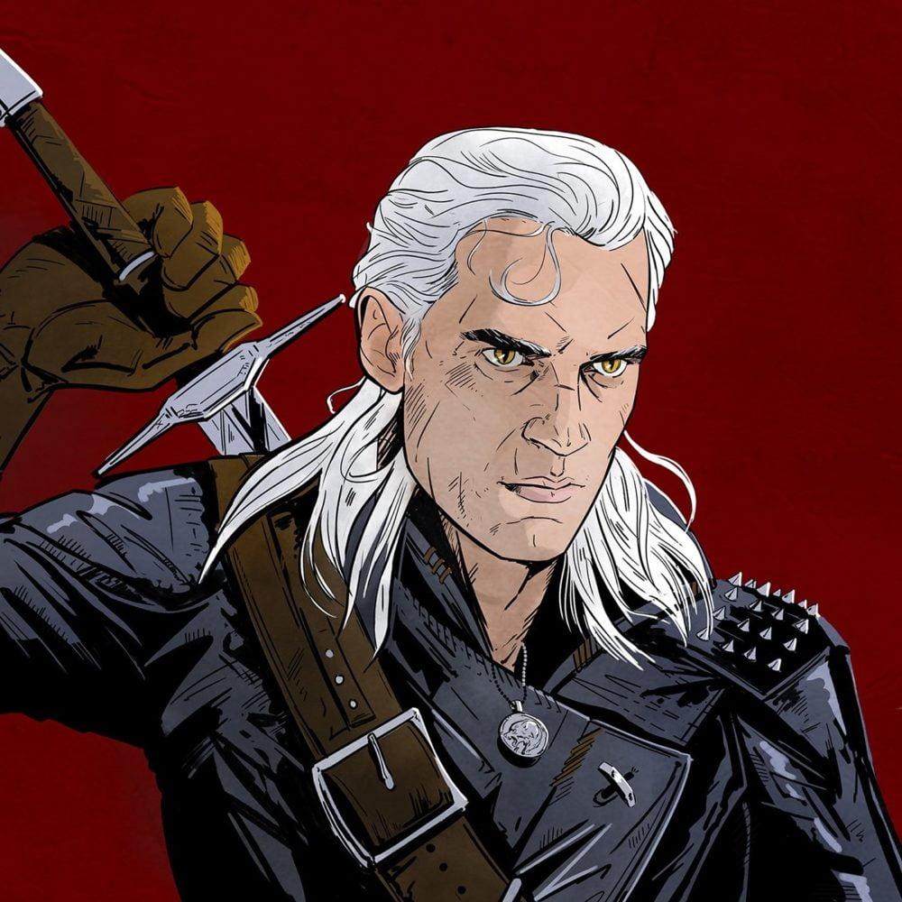 Henry Cavill jako wiedźmin Geralt The Witcher Netflix