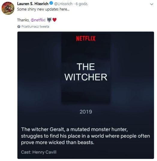 data premiery serial wiedźmin witcher netflix 2019