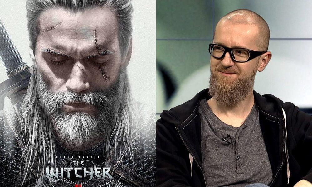 Bagiński i Cavill jako Geralt