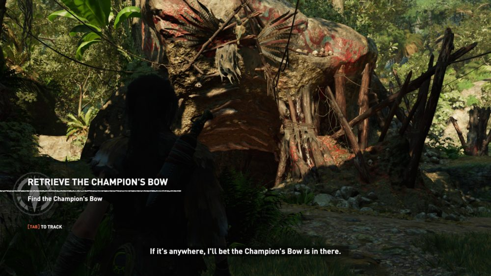 Screen z gry Shadow of the Tomb Raider