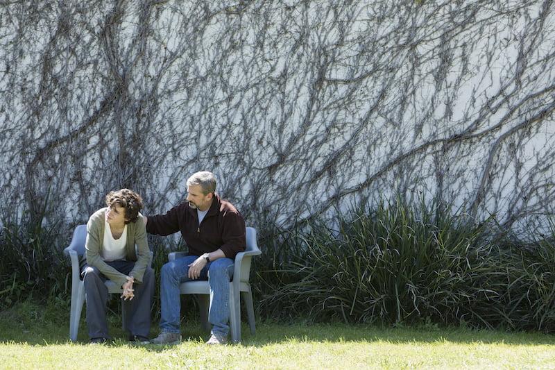 Kadr z filmu Beautiful Boy / Timothée Chalamet i Steve Carell / fot. materiały prasowe