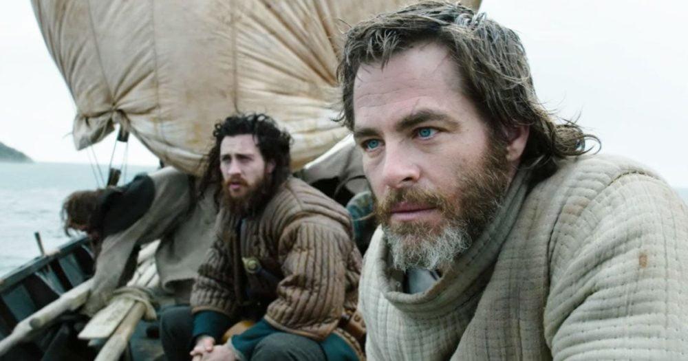 Aaron Taylor-Johnson i Chris Pine w filmie Król wyjęty spod prawa / fot. materiały prasowe Netflix