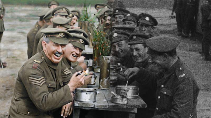 Kadr z filmu They Shall Not Grow Old / fot. materiały prasowe