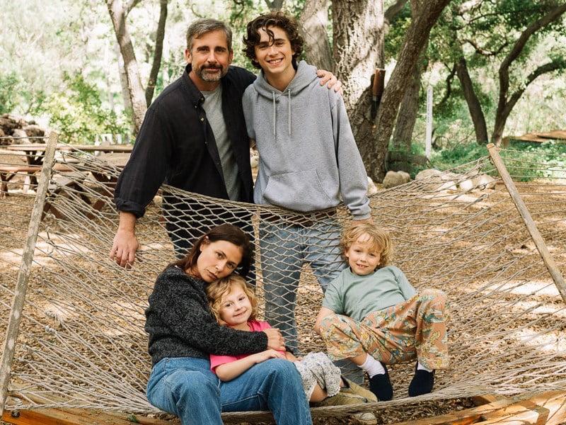 Timothée Chalamet i Steve Carell w filmie Mój piękny syn