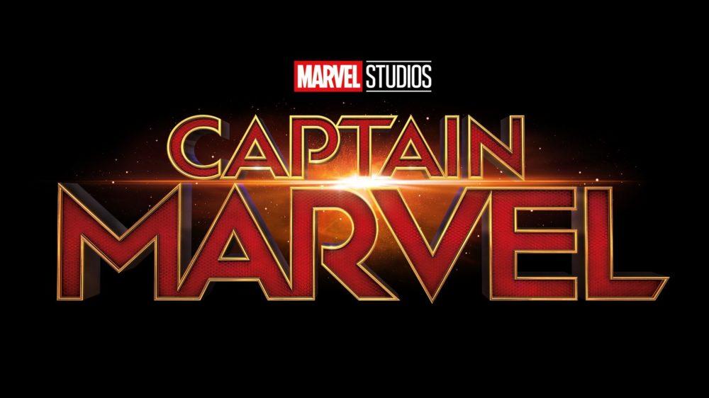 logo Kapitan Marvel film mcu