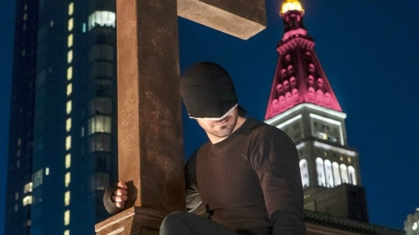 kadr z serialu Daredevil