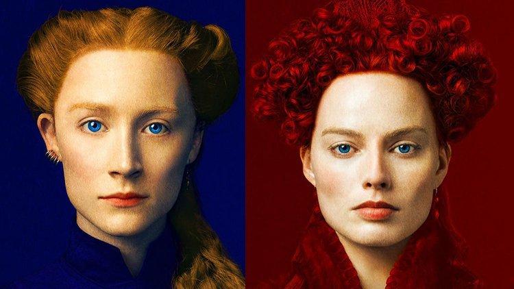 Saoirse Ronan Margot Robbie Maria królowa Szkotó Elżbieta
