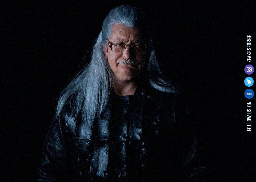 Sapkowski jako Geralt wiedźmin przeróbka Cavill Netflix serial
