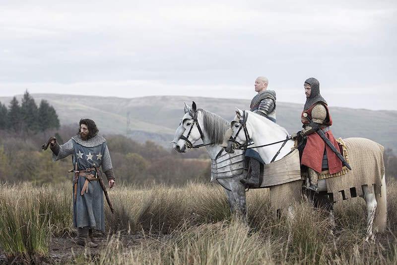 Aaron Taylor-Johnson w filmie Król wyjęty spod prawa / fot. materiały prasowe Netflix