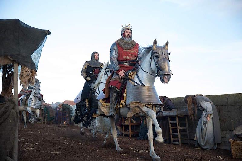 Billy Howle (z lewej) w filmie Król wyjęty spod prawa / fot. materiały prasowe Netflix