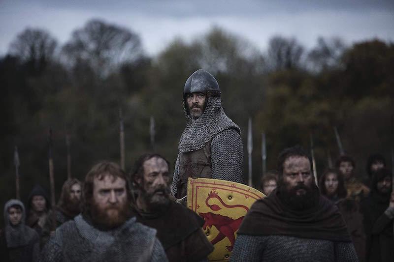 Chris Pine w filmie Król wyjęty spod prawa / fot. materiały prasowe Netflix