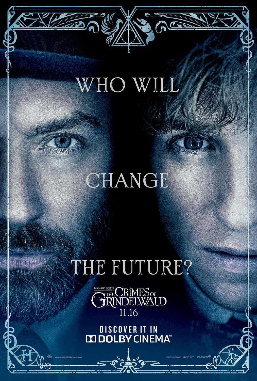 Plakat pompujący film Zbrodnie Grindelwalda
