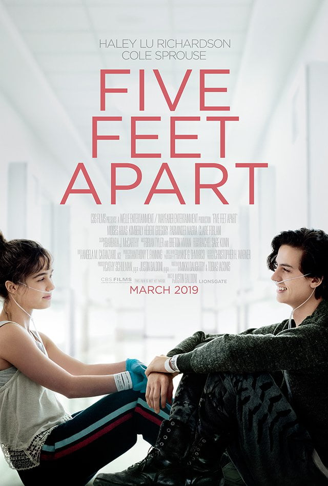 Plakat promujący film Five Feet Apart