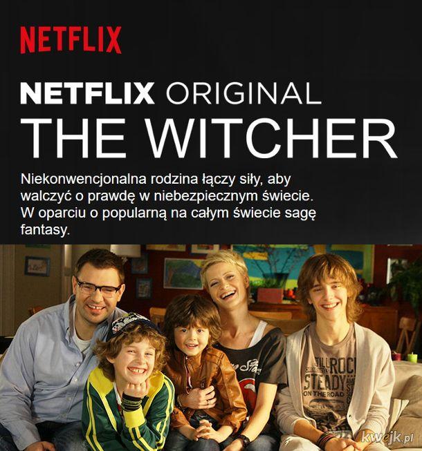 netflix wiedźmin witcher maciej musiał mem