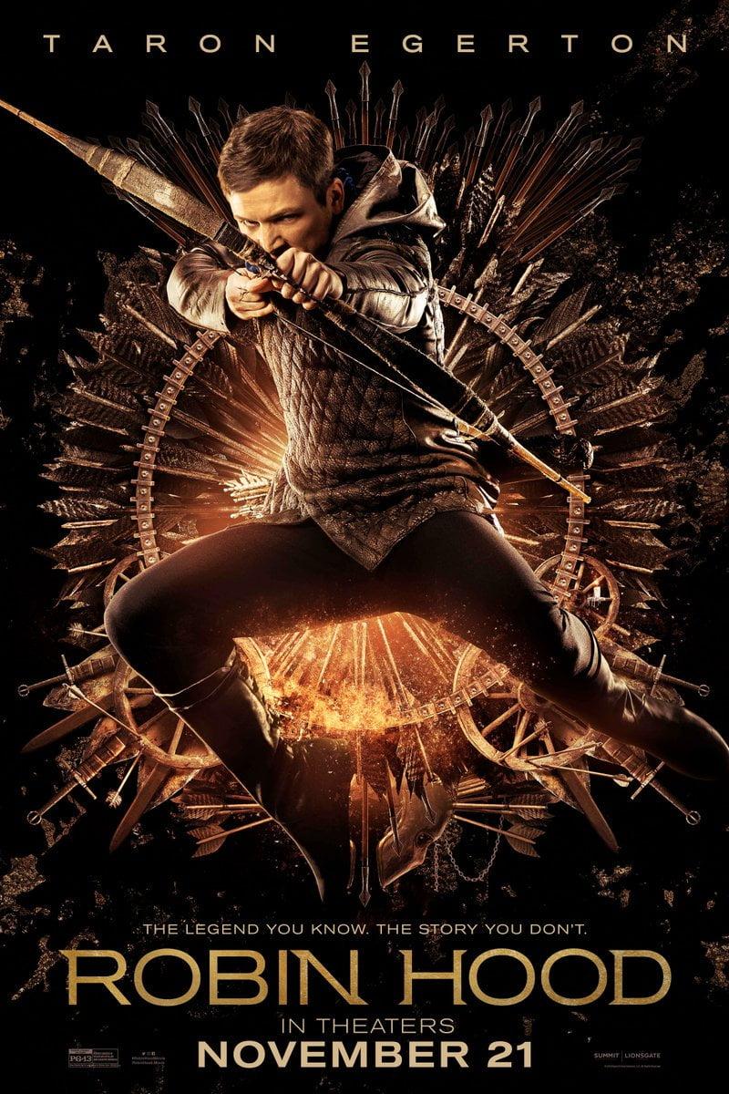 Robin Hood Początek Nowy Fragment Oraz Plakaty Bohaterów