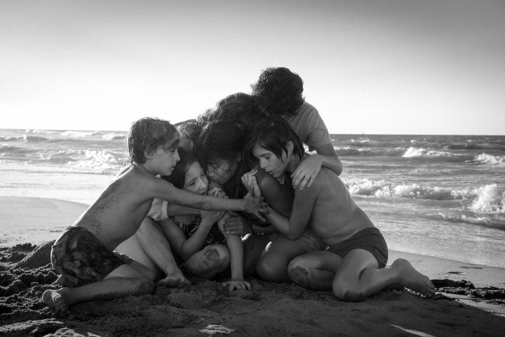 Kadr z filmu Roma / fot. materiały prasowe Netflix