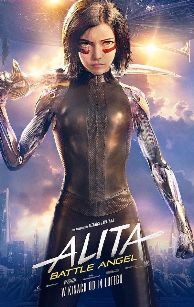 Plakat filmu Alita: Battle Angel / materiały prasowe Imperial - Cinepix