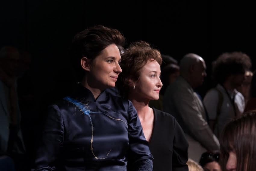 Agnieszka Smoczyńska i Gabriela Muskała podczas premiery w Cannes / fot. materiał prasowe Semiane de la Critique