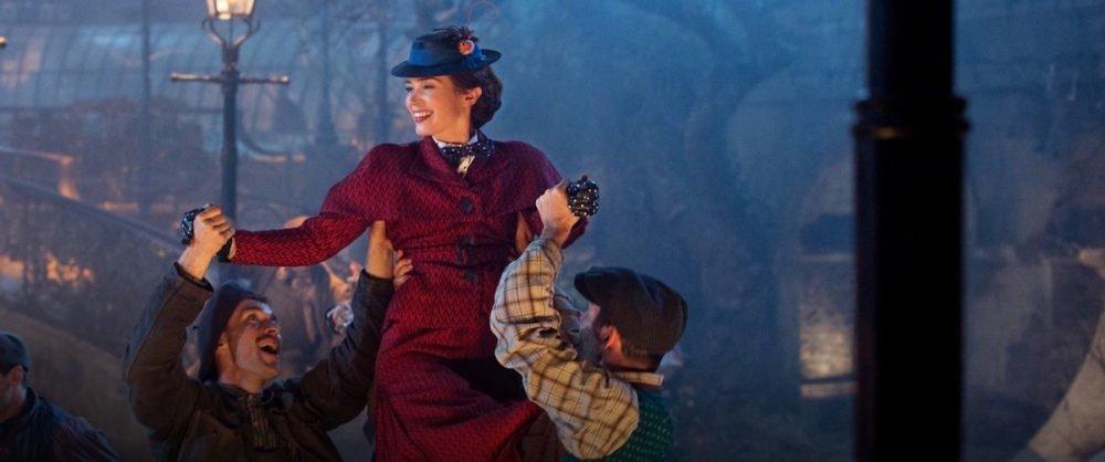 Kadr z filmu Mary Poppins powraca / fot. materiały prasowe / Disney Polska