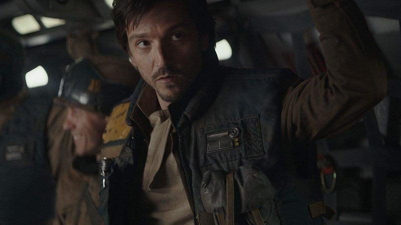 Diego Luna jako Cassian Andor z Łotra 1
