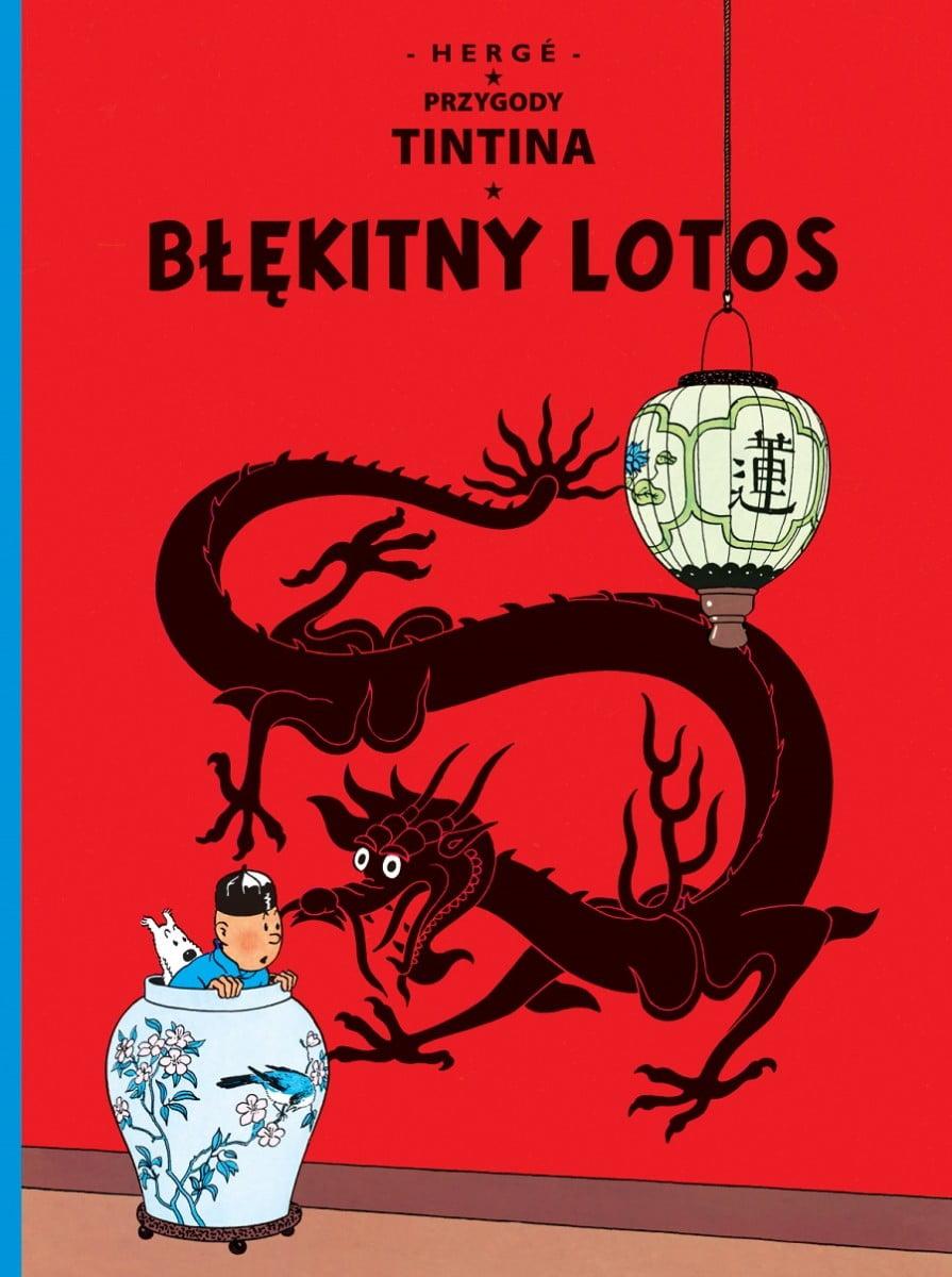 Tintin błękitny lotos