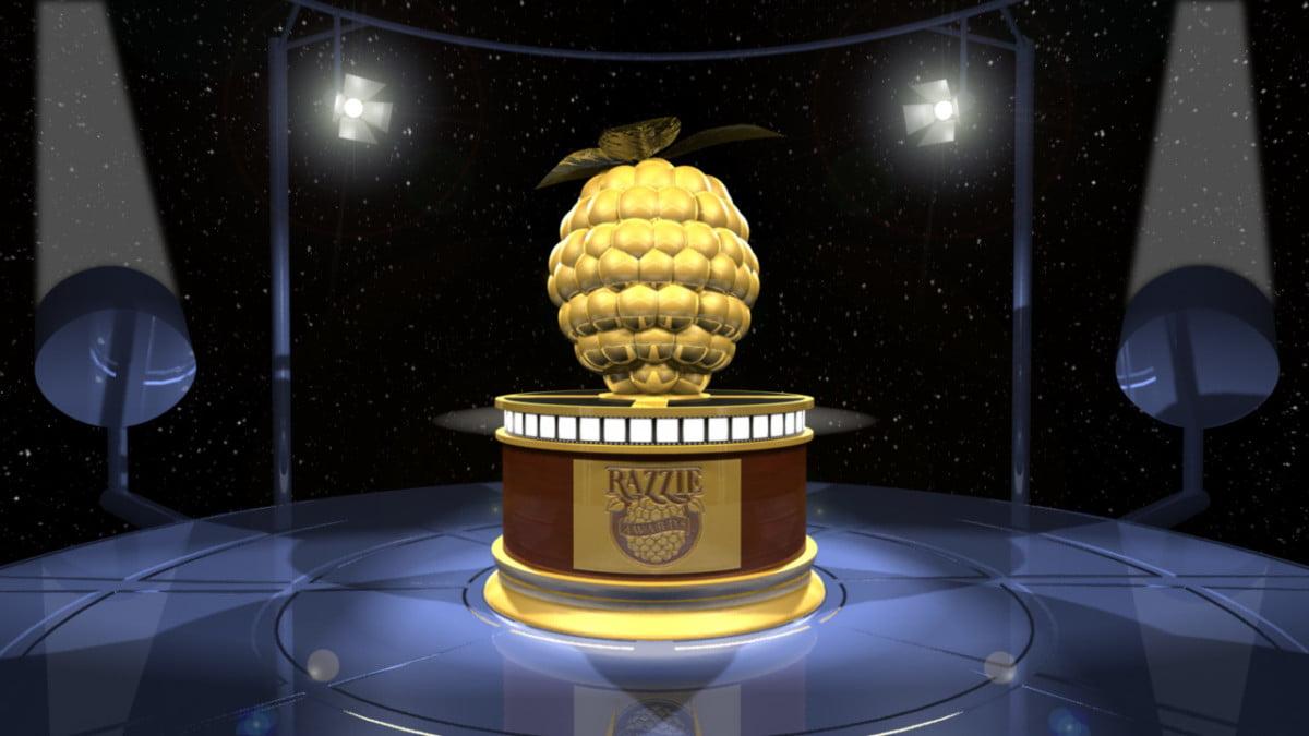 złote maliny statuetka