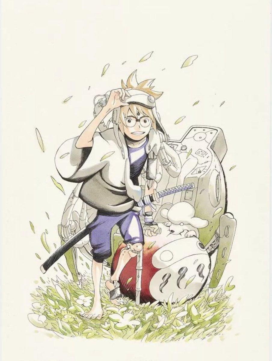 naruto nowa manga