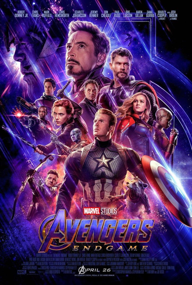Avengers: Koniec Gry plakat