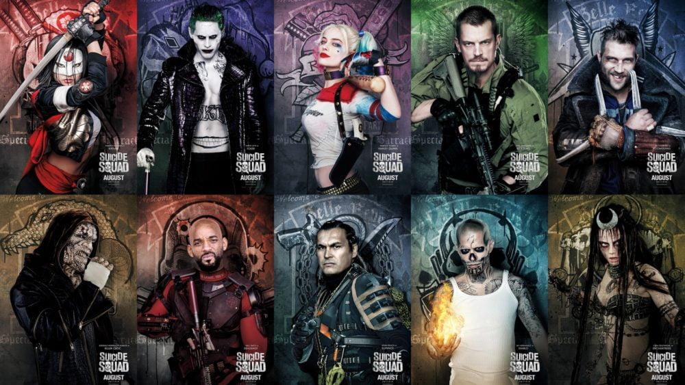 Legion samobójców Suicide Squad bohaterowie