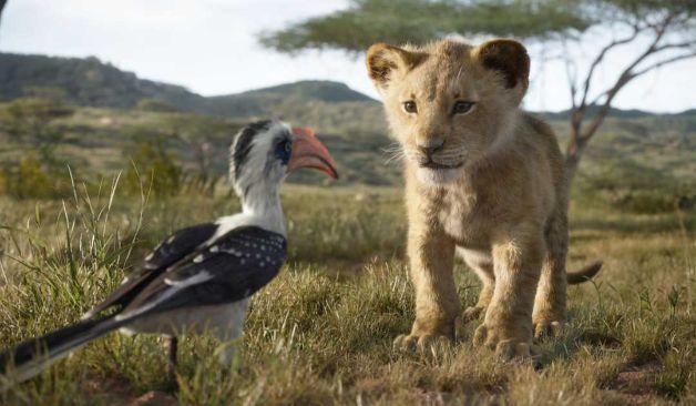 Simba i Zazu w Królu Lwie