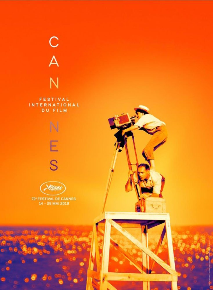 Plakat 72. Festiwalu Filmowego w Cannes / fot. materiały prasowe / Flore Maquin