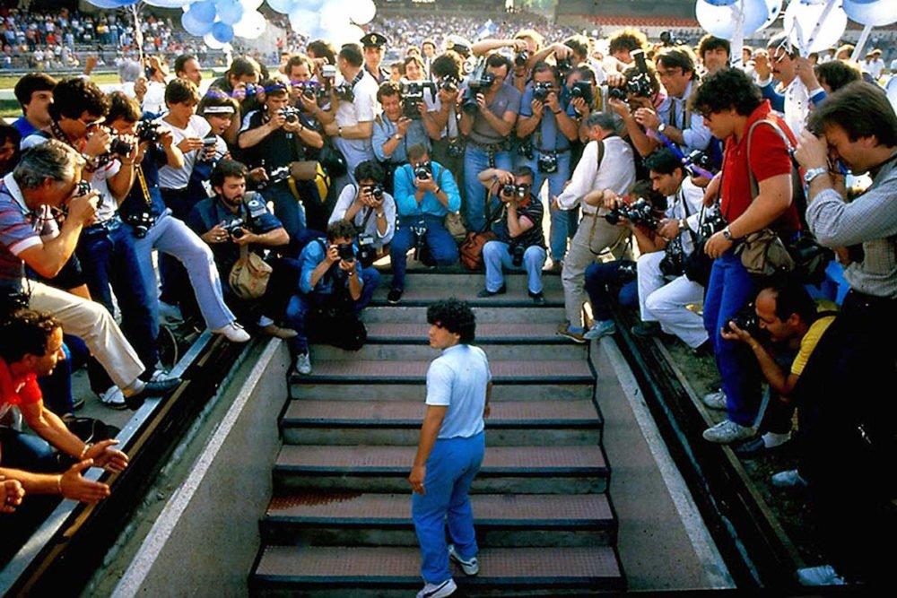 Kadr z filmu Maradona / fot. materiały prasowe