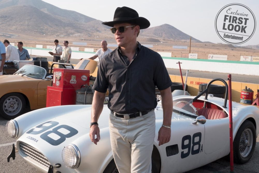 Matt Damon w filmie Le Mans '66 / fot. materiały prasowe