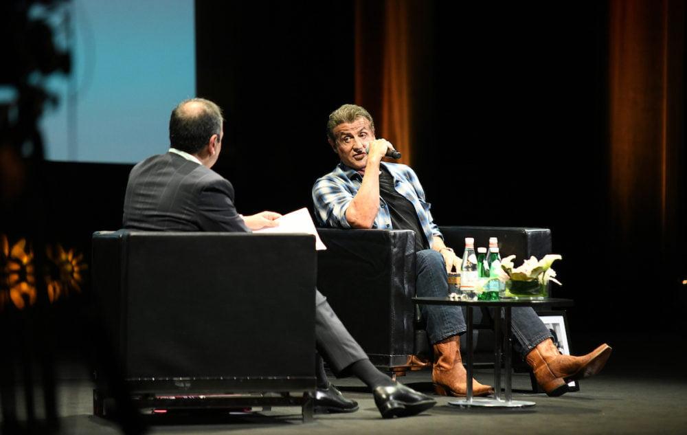 Sylvester Stallone / Fot: Déborah Néris /FDC